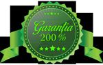 Garantia de 200%