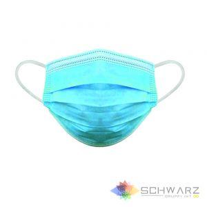 Mască de protecție unică folosință 3 pliuri 3 straturi BFE >96%