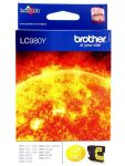 BROTHER LC980YBP INK DCP145C YELL BLIS ORIGINAL