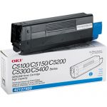 OKI TONER CYAN FOR 5100N/5300N ORIGINAL