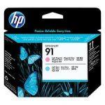 HP P2V37A 91 PRINTHEAD LGT MAG/LGT CYAN Original