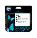 HP P2V97A PRINTHEAD 774 MATTE BLK/CH RED Original