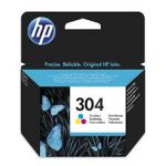 HP N9K05AE INK 304 TRI-COLOR Original