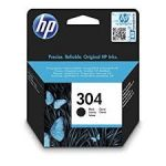 HP N9K06AE INK 304 BLACK Original