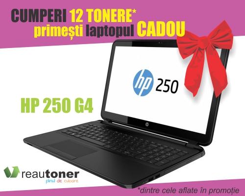 Laptop HP cadou la 12 tonere cumpărate!