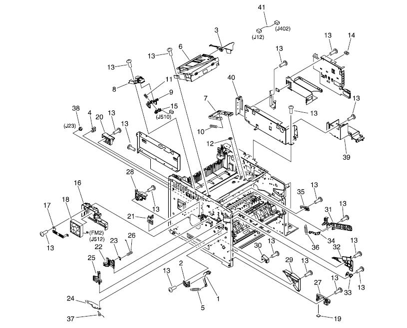 Componente - Service profesional pentru orice imprimante si copiatoare